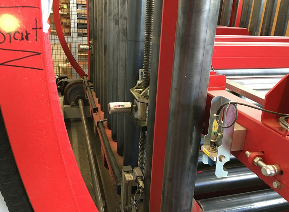 lubrication lifting spindle recycling
