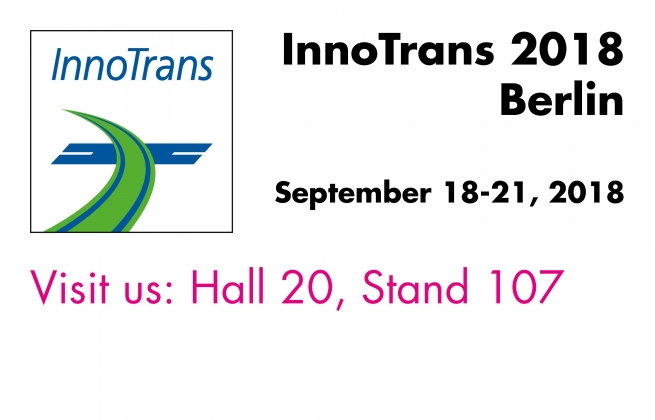 Visit us at the InnoTrans